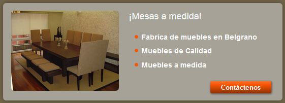 mesas a medida fabrica de muebles capital federal